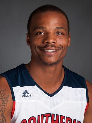 USI basketball player Bobo Drummond.