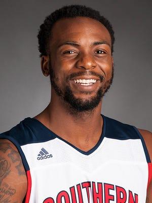 USI basketball player Jeril Taylor