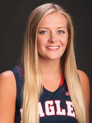 USI women's basketball player Kaydie Grooms.