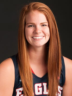 USI junior Morgan Dahlstrom.