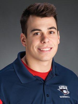 USI senior righthander Justin Watts.