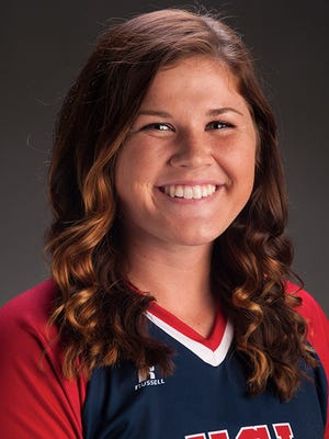 University of Southern Indiana sophomore Caitlyn Bradley.