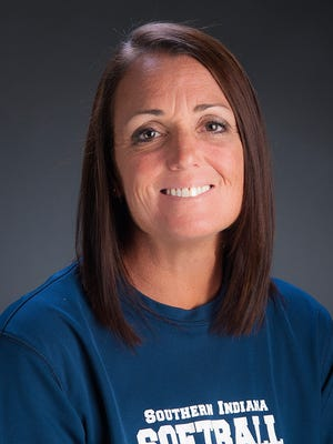 University of Southern Indiana softball head coach Sue Kunkle.
