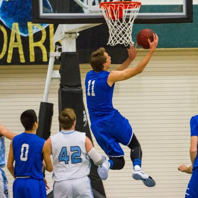 Prep basketball: Balanced attack leads Dixie over Canyon View, 69-53