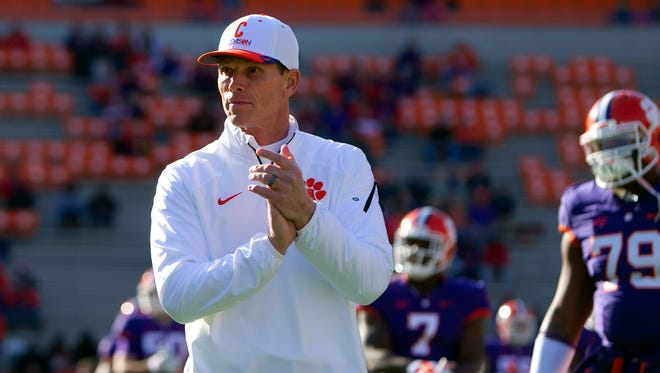 Defensive coordinator Brent Venables will stay on at Clemson.