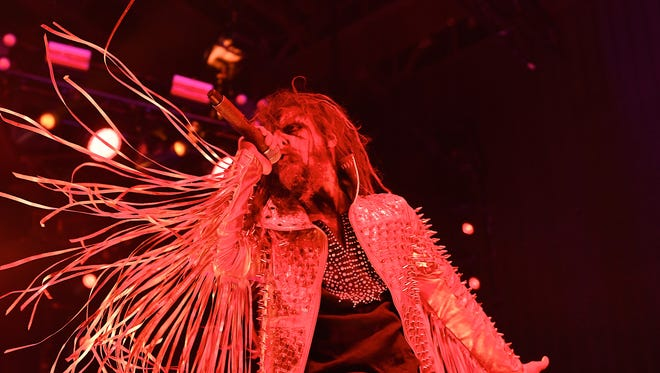 Rob Zombie will perform July 18 at Ruoff Home Mortgage Music Center.