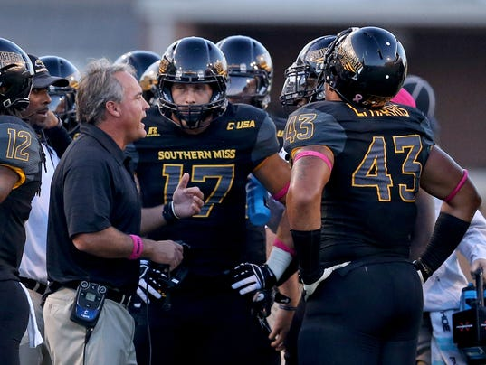 NCAA Football: Rice at Southern Mississippi