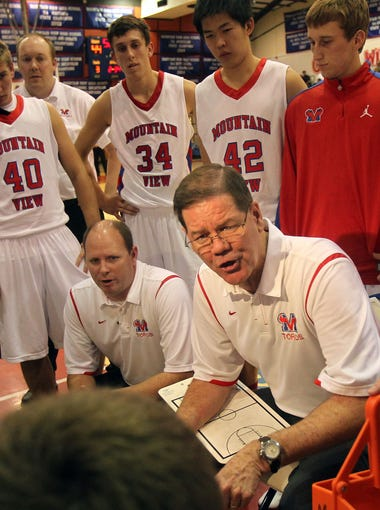 Ageless coach Gary Ernst, who has won 823 games in his career (through Dec. 29) -- more than any coach in Arizona boys basketball high school history – has led Mesa Mountain View to seven state championships. It's been an incredible run, and the tireless coach still has the same impact on kids today as he did in 1976, when he led Chandler to his first state championship.