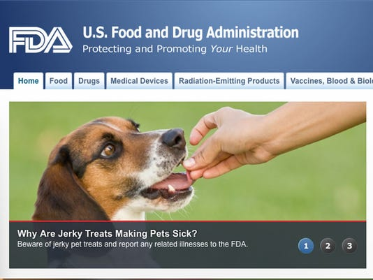 Jerky treats making pets sick