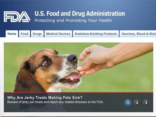 Jerky treats making pets sick