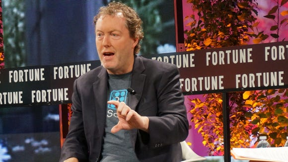 Mike Cagney, CEO, SoFi, speaks at the Fortune Brainstorm