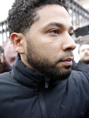 Jussie Smollett leaves Cook County jail after posting