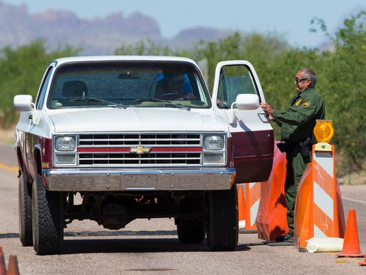 Border Patrol checkpoints 2nd