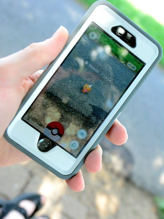 PHOTOS: Pokeman Go at Cousler Park
