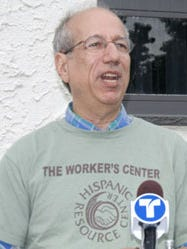 John Gitlitz is a member of the board of the Community Resource Center in Mamaroneck.