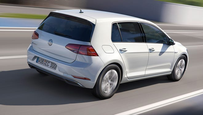 Volkswagen has boosted the range of its e-Golf electric car.