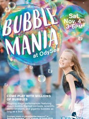 Get ready for tons of bubble fun with the first Bubble Mania event at OdySea in the Desert.
