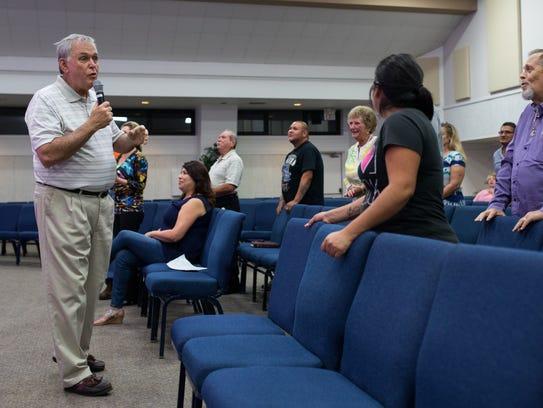 Pastor Steve Sorenson of the Bridgeway Church of Corpus