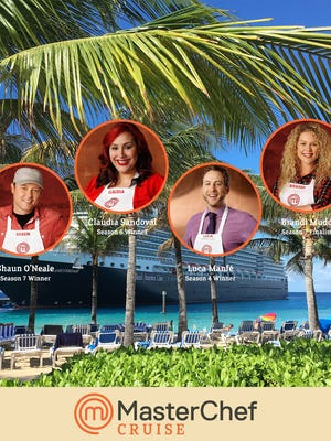 The third annual MasterChef cruise will take place in November 2017.