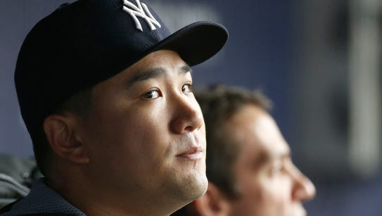 New York Yankees pitcher Masahiro Tanaka keeps his