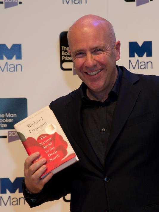 AP BRITAIN MAN BOOKER PRIZE 2014 I GBR