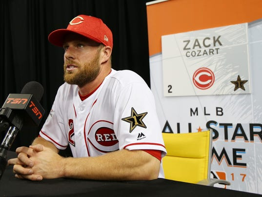 Image result for zack cozart all star game