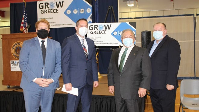 Supervisor Bill Reilich and the Greece Town Board announce GROW Greece, a program providing federal funds to local retail and service businesses.