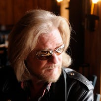 Daryl Hall sits for an interview in his restaurant and live music club, Daryl's House, located in Pawling.