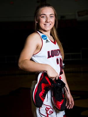 Jessica Laemmle, from Mercy Academy, is an incoming freshman walk-on for the Louisville Cardinals women's basketball team.