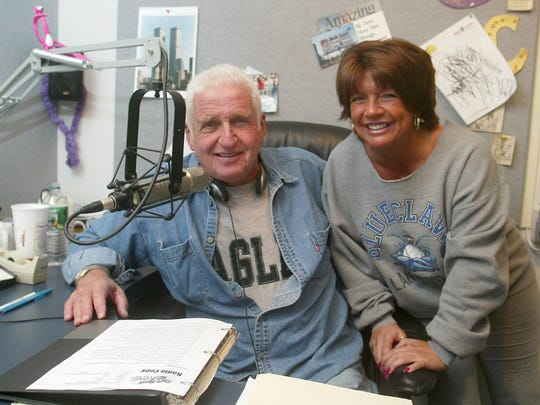 WOBM's Bob Levy, seen in this 2004 file photo with his wife and co-host Marianne Levy, is retiring from his daily morning show. She will continue with new partner Joel Markel.