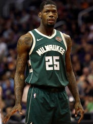 Milwaukee Bucks guard DeAndre Liggins.