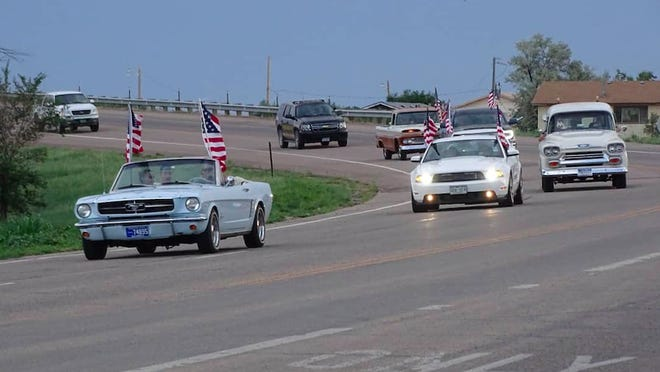 The VFW Auxiliary loaned 23 American Flags from their Avenue of Flags to post around the fairgrounds.