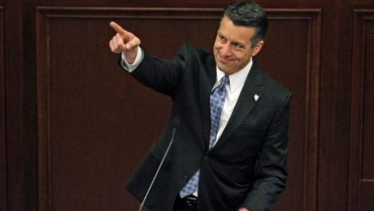 Gov. Brian Sandoval of Nevada.