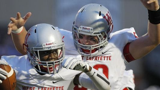 West Lafayette defeated Hamilton Heights on Friday, September 18, 2015.