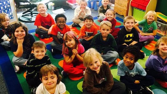 """The students in Mrs. Leach's kindergarten class at South View Elementary School tell us, """"How to cook a turkey."""""""