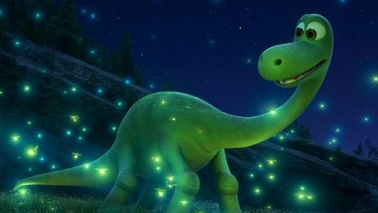 An Apatosaurus named Arlo has to brave the wild outdoors