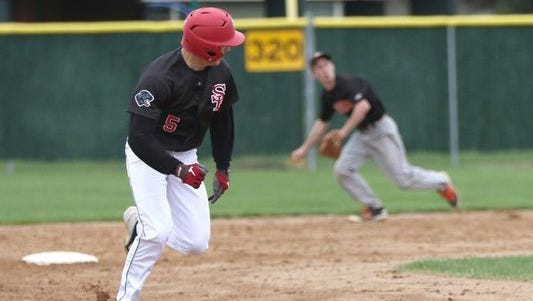 SPASH's Gus Turner-Zick was the co-baseball player of the year in the Wisconsin Valley Conference last year.