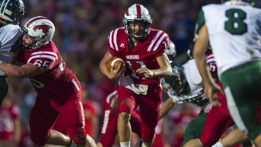 New Palestine is the new No. 1 in Class 5A.