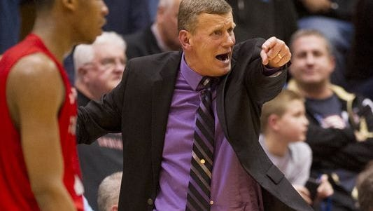 Mark James coached seven seasons at Ben Davis, leading the Giants to the Class 4A title in 2017.