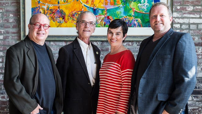 "June 13, 2017 - From left, Joey Hagan, David Scheurmann, Valentina Cochran and Charles ""Chooch"" Pickard are the four principles of Architecture Incorporated."