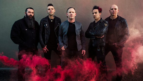 American heavy metal band Stone Sour will perform at