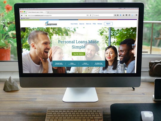 RocketLoans is an online platform for personal loans