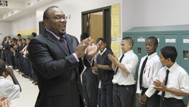 A 2012 file photo of Burnice Green at the Boys Academy located in School 9 in Rochester.