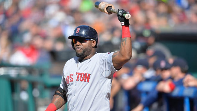 David Ortiz is the designated hitter for the Red Sox.