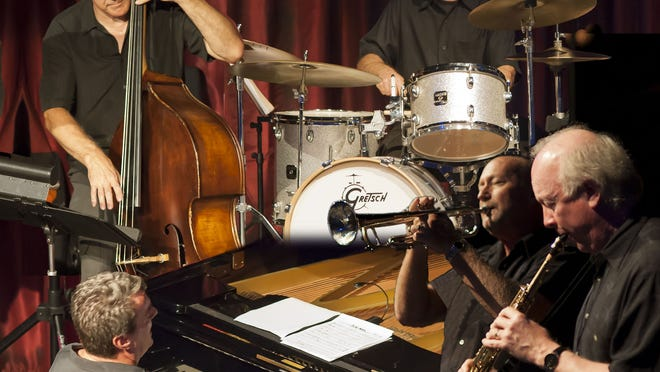 The Cape Cod Jazz Quintet will perform live for outdoor concerts on Monday in Eastham and on Aug. 14 in Dennis.