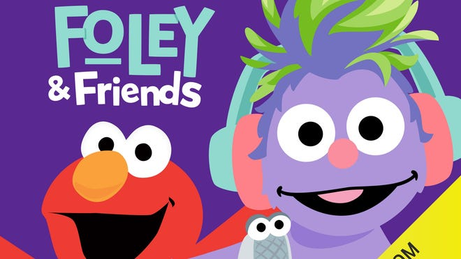"Cover art for ""The Sesame Street Podcast with Foley & Friends."""