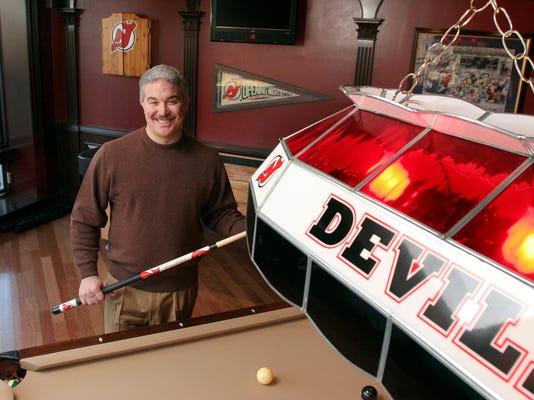 Jeff Vanderbeek NJ Devils
