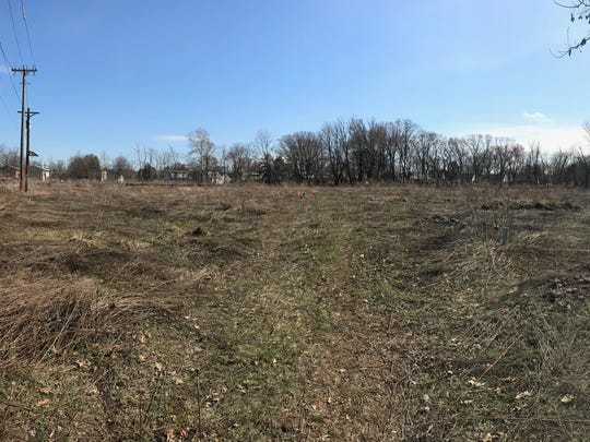 A panoramic view of the Lion Gate property in Bloomfield taken on Monday, April 9, 2018.