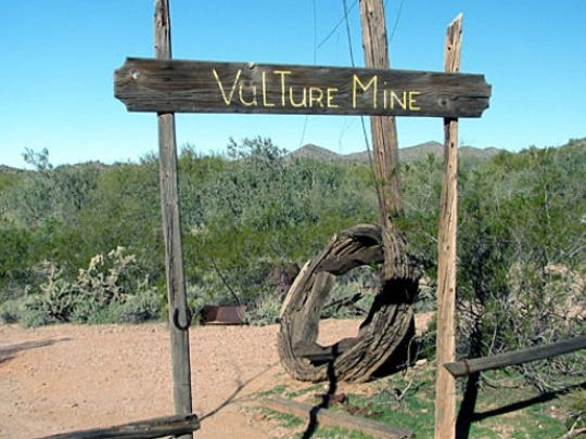 Vulture Mine and Vulture City ghost town