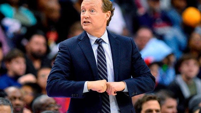Mike Budenholzer coached the Hawks for five seasons.